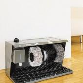 maquina de engraxar sapatos