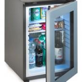 Minibar hotel baixo consumo silencioso CE a+ porta de vidro