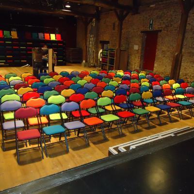 Cadeiras convenções e sala de reunião