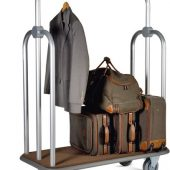 Carro de bagagem hotel