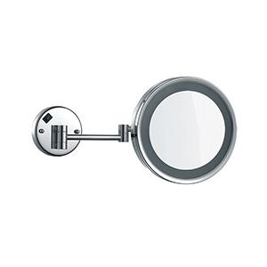 Espelho de aumento com iluminação led