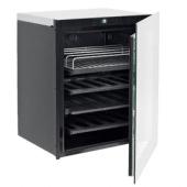Minibar combinação com garrafeira, CE A++, porta de vidro e temperatura controlada